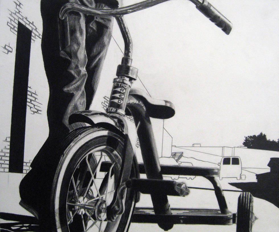 Risd Bike Drawing By Tomschmitt On Deviantart