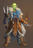 Akkma the Shaman by aketan