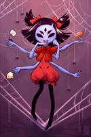 A cup of spiders by aketan