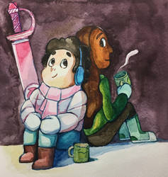Steven and Connie! by evelynpark