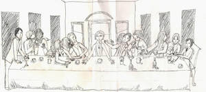 The Last Supper by SinisterCourtesy
