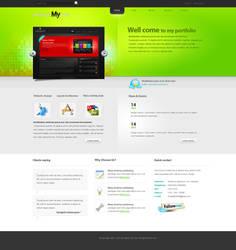 new company portfolio by aadi-f