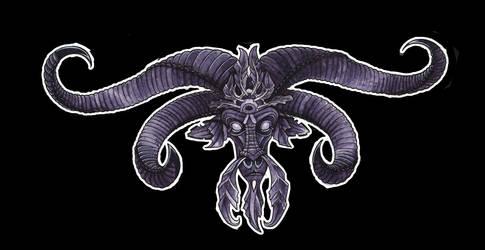 demon goat by enolianslave