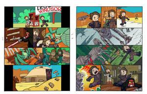 lego star wars by enolianslave