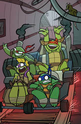 tmnt animated by enolianslave