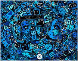 World Of Doodle by oliversantiago