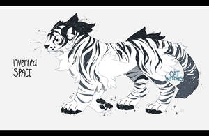 {Auction, Closed} Inverted Space Tiger by fayeskies