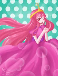 Princess Bubblegum by lxoivaeh