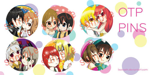 OTP pins...PART 1 by lxoivaeh