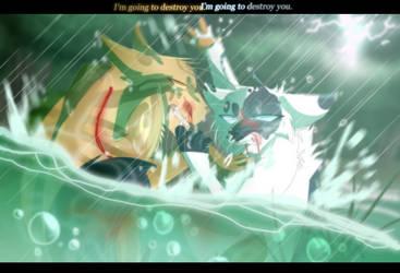 Onestar VS. Darktail (Warrior Cats) by WarriorCat3042