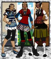 Gatekeeper Girls by erin-hime