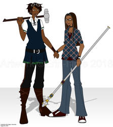 Tobias and Persey by erin-hime