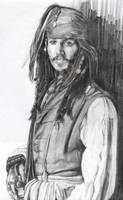 Captain Jack Sparrow by Skaramoosh