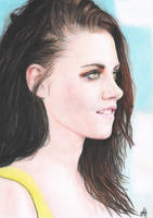 Kristen Stewart portrait by mathijs050