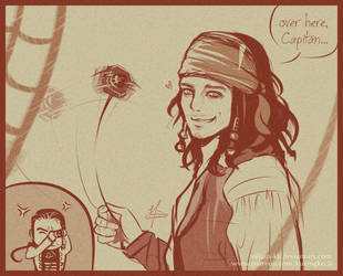 Jack Sparrow - young by Villian-KucingKecil