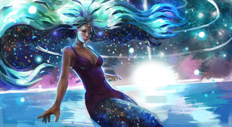 Nielsa Splash Art (Day 33/365) by JamesExcalibur