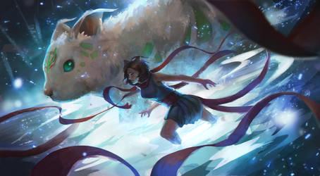 Zoza and Nami Splash Art (Day 34/365) by JamesExcalibur
