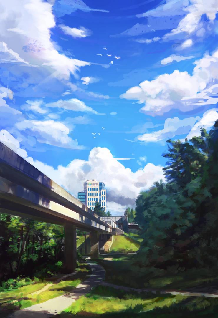 Edmonds SkyTrain Station (Day 39/365) by JamesExcalibur