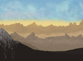 Mountains by hkmun