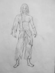 Man sketch 1 by hkmun