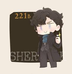 Sherlock by sobaharuno