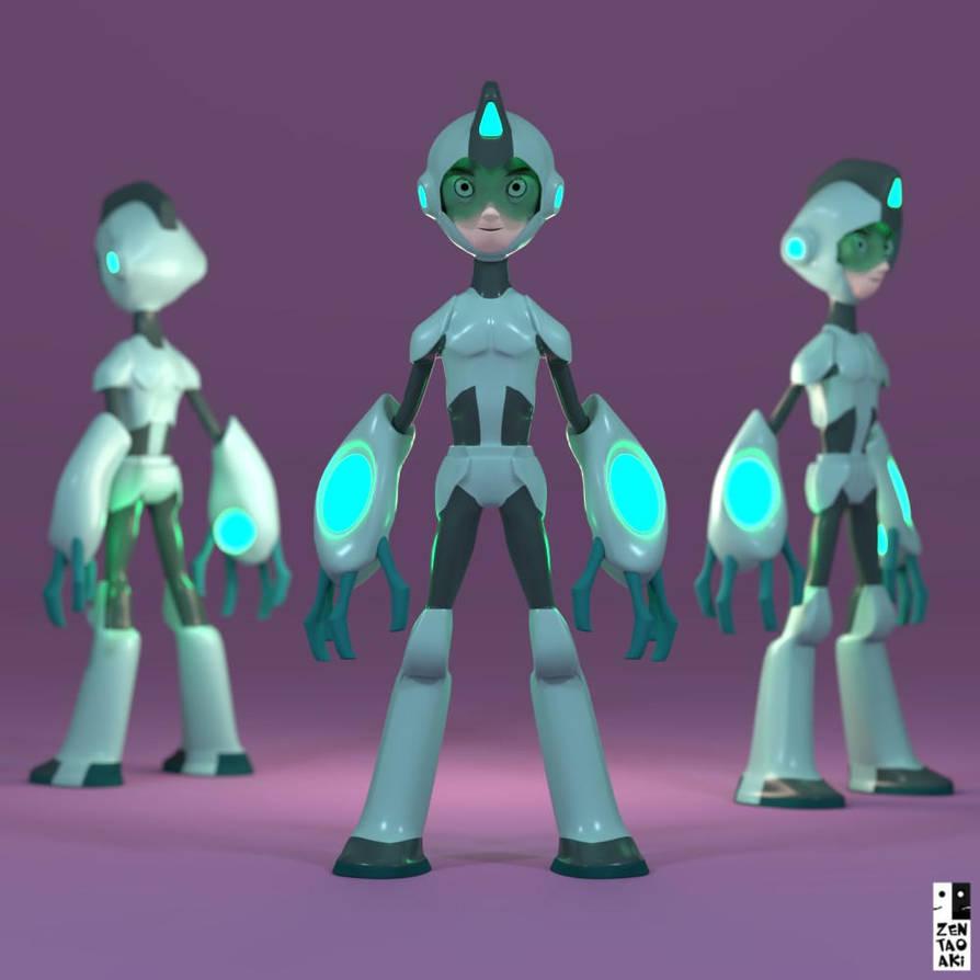 Personaje acabado by zentaoaki