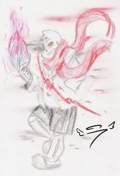 ~~Aftertale~~ Geno!Sans by 7goodangel