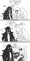 A small prank ~Error and Ink Sans~ by 7goodangel