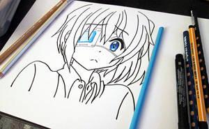 Rikka Takanashi WIP by Aenea-Jones