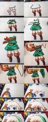 Link [Oracle of Ages] - Step by Step by Aenea-Jones