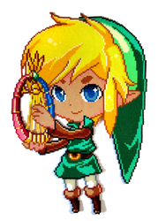 Link [Oracle of Ages] by Aenea-Jones