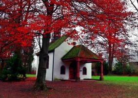 Chapel by the Red Tree by Aenea-Jones