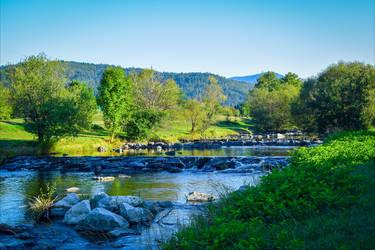 Where the River flows VI by Aenea-Jones