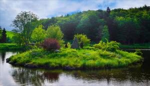 Green Island by Aenea-Jones