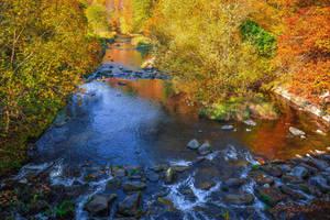 River flowing, nostalgia growing VI by Aenea-Jones