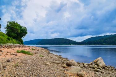 Lakeside View III by Aenea-Jones