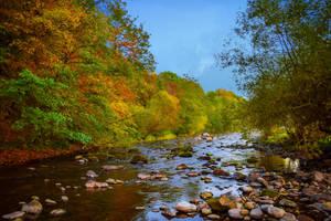 Where the River flows XV by Aenea-Jones