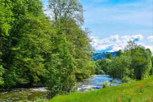 Calm River V by Aenea-Jones