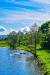 Along the River VI by Aenea-Jones