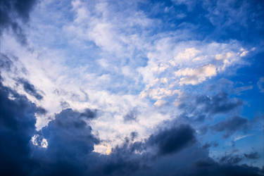 Clouds Stock by Aenea-Jones