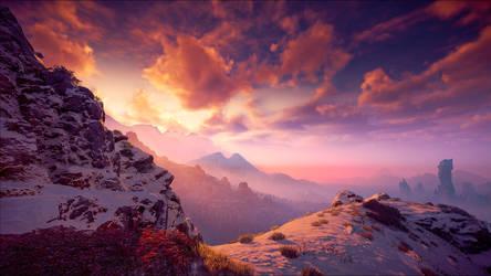 Horizon: Zero Dawn VII by Aenea-Jones
