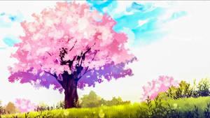Cherry Blossom Tree by Aenea-Jones