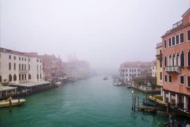 Foggy Venice XV by Aenea-Jones