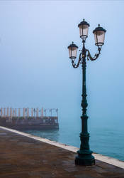 Lonely Lampposts IV by Aenea-Jones