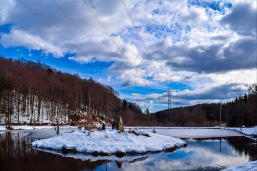 Winter Reflection IV by Aenea-Jones