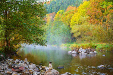 Season of mists and mellow fruitfulness III by Aenea-Jones