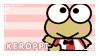 Kero Kero Keroppi Stamp by ArkayStamps