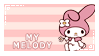 My Melody Stamp by ArkayStamps