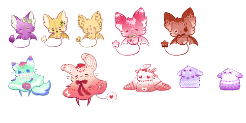 LeftOver Adopts ! /CLOSED by Jennlevi