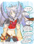 Getting Toothless back takes alot of talking by Miikage